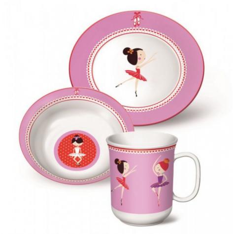 AMEFA Coffret 4 pi/èces Ballerina pour enfants