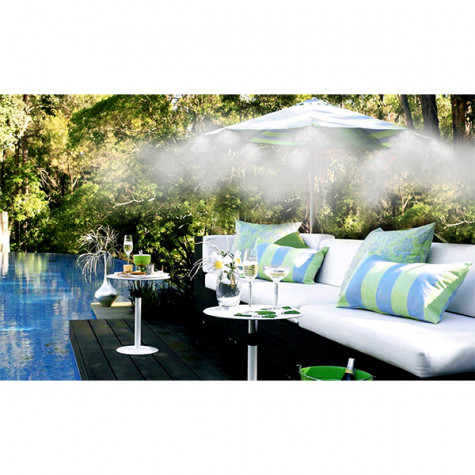 aquajet Kit de brumisation 5 buses pour terrasse et jardin aquajet
