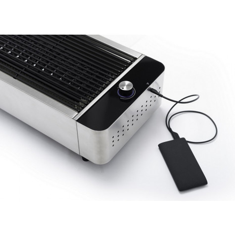 barbecook Barbecue à charbon portable inox avec housse barbecook