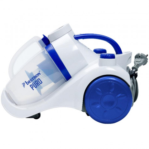 bestron aspirateur sans sac acbe 79db blanc/bleu abl830wb