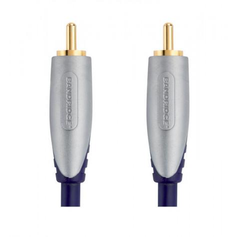 brandridge Câble audio rca 5m mâle brandridge