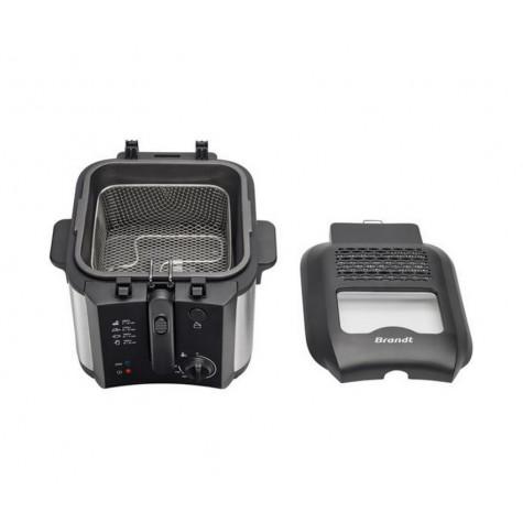 Brandt fri30x Friteuse 2,5l 1600w noir//inox