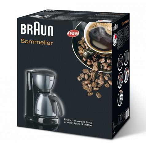 braun Cafetière filtre isotherme 10 tasses 1100w braun