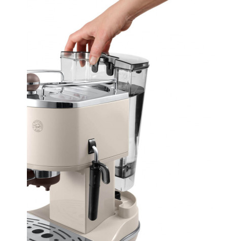 delonghi Machine à expresso 15 bars beige delonghi