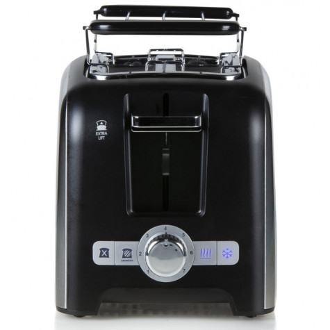 domo Grille-pains 2 fentes 900w noir domo
