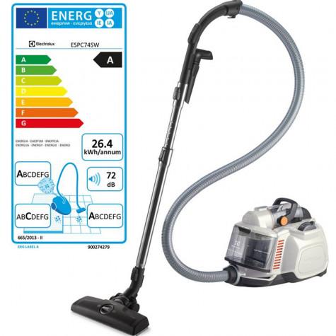 electrolux aspirateur sans sac aaca 72db blanc coquillage escp74sw