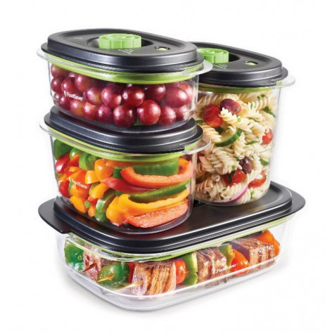 foodsaver Lot de 2 boîtes pour appareil sous vide foodsaver