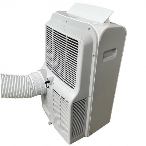 htw climatiseur mobile 3500w 35m2 avec kit fenêtre htw-pc-035p27