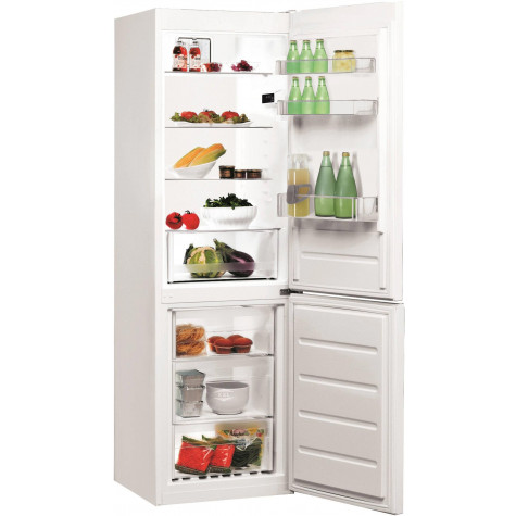 indesit Réfrigérateur combiné 60cm 338l a+ brassé blanc indesit