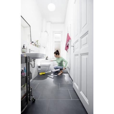 karcher Balai de nettoyage rechargeable 7.2v jaune karcher