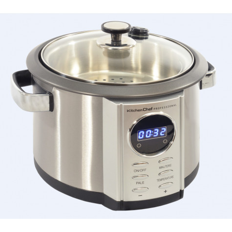 kitchen chef Multicuiseur 4,5l 700w inox kitchen chef