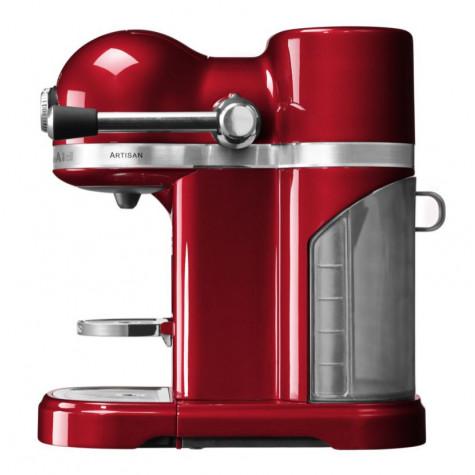 kitchenaid Cafetière nespresso automatique 19bars pomme d'amour kitchenaid
