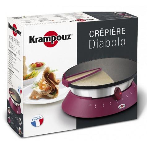 krampouz Crêpière 33cm 1250w fuchsia krampouz