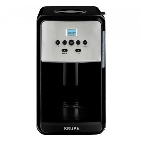 krups Cafetière isotherme programmable 10 tasses 1000w noir/inox krups