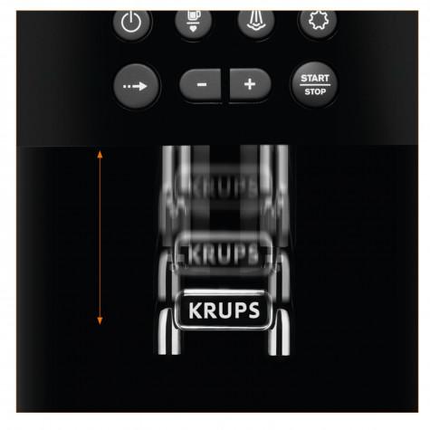 krups Robot café 15 bars noir/gris krups
