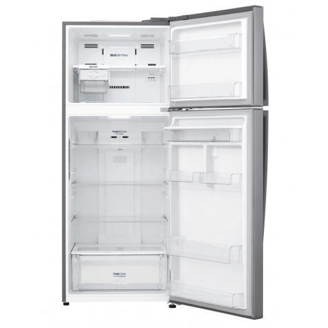 lg Réfrigérateur 2 portes 70cm 438l a++ nofrost inox lg