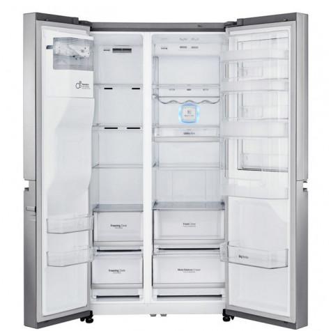lg Réfrigérateur américain 91cm 601l a++ no frost inox lg