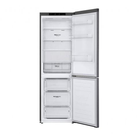 lg Réfrigérateur combiné 60cm 341l a++ nofrost graphite lg