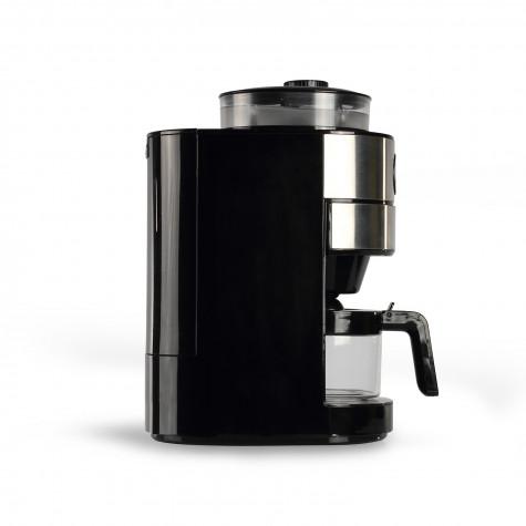 Caf/é en Grains ou Moulu LIVOO DOD173 Cafeti/ère avec Broyeur Int/égr/é S/électeur dAr/ômes 820W Capacit/é 6-9 Tasses Arr/êt Automatique