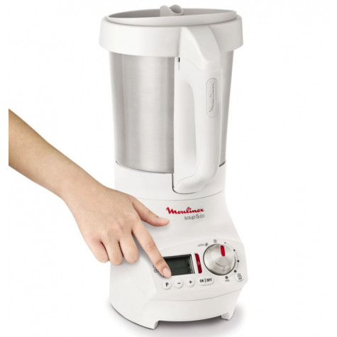 moulinex Blender chauffant 2.8l 1100w blanc moulinex