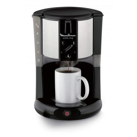 moulinex Cafetière filtre 10 tasses 1000w noir/inox moulinex