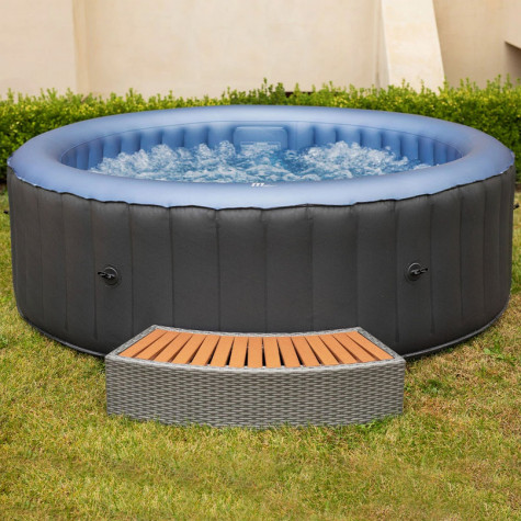 mspa Spa gonflable jacuzzi rond 6 places mspa