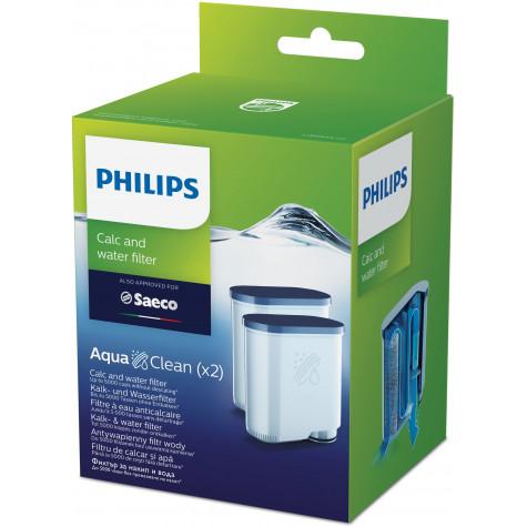 philips 2 filtres à eau anti-calcaire pour expresso philips