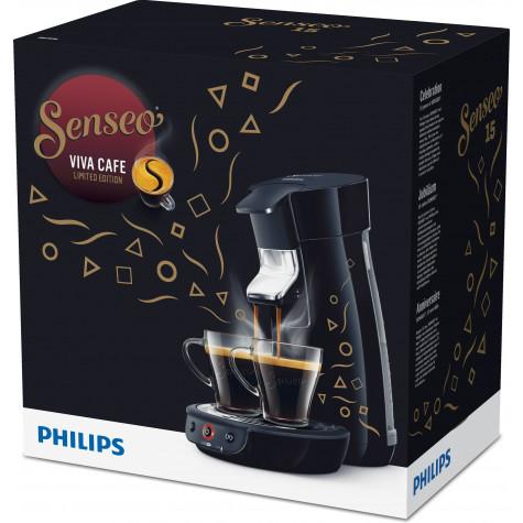 philips Cafetière à dosettes 1 bar 1450w noir philips