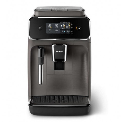 philips Robot café 15 bars gris philips