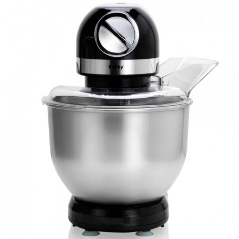 robby Robot multifonctions 5l 1000w noir avec hachoir et blender 1,5l en verre robby