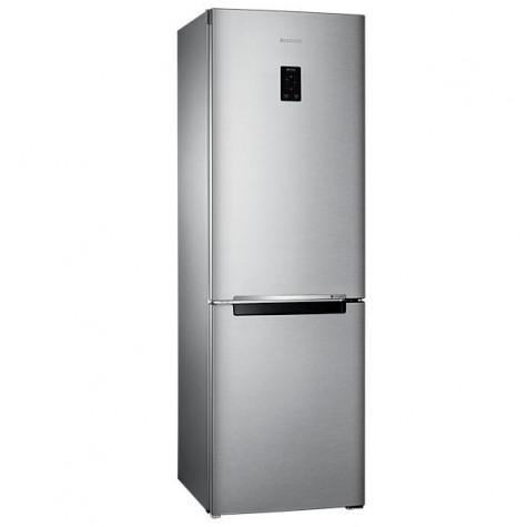 samsung Réfrigérateur combiné 328l a+ nofrost gris métal samsung