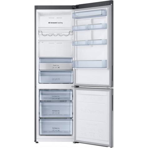samsung Réfrigérateur combiné 60cm 344l a++ nofrost inox samsung