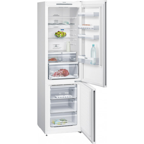 siemens Réfrigérateur combiné 60cm 366l a++ no frost blanc siemens