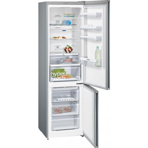 siemens Réfrigérateur combiné 60cm 366l a++ no frost inox siemens