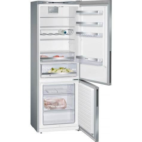siemens Réfrigérateur combiné 70cm 412l a+++ lowfrost inox siemens