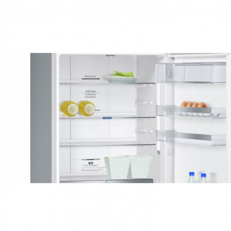 siemens Réfrigérateur combiné 70cm 435l a++ nofrost inox siemens