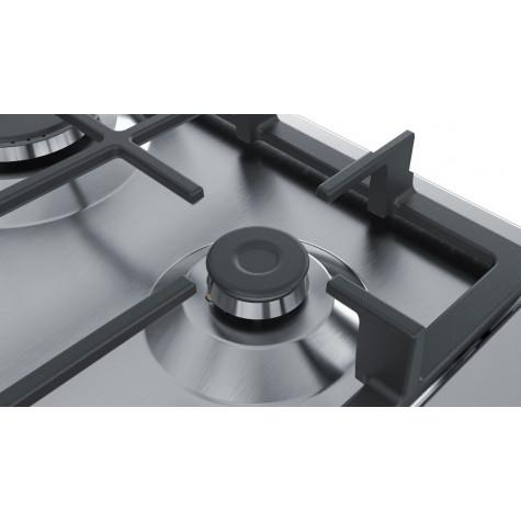 siemens Table de cuisson gaz 60cm 4 feux inox siemens