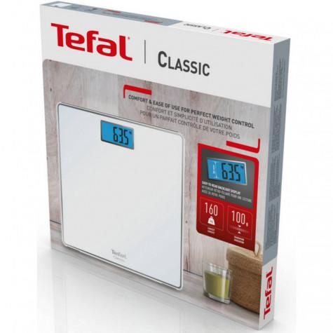 tefal Pèse-personne électronique 160kg/100g blanc tefal