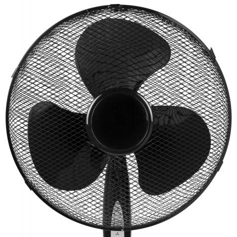 tristar Ventilateur sur pied 40cm 45w 3 vitesses noir tristar