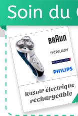 Rasoir électrique rechargeable