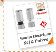 Moulin Electrique Sel & Poivre