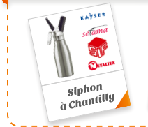 Siphon à Chantilly