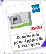 Commande pour Appareils Electriques