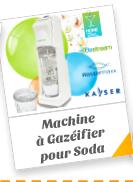 Machine à Gazéifier pour Soda