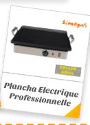 Plancha Electrique Professionnelle