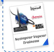Nettoyeur Vapeur Traineau