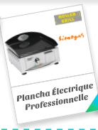Plancha Électrique Professionnelle