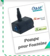 Pompe pour Fontaine
