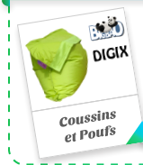 Coussins et Poufs