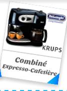 Combiné Expresso-Cafetière